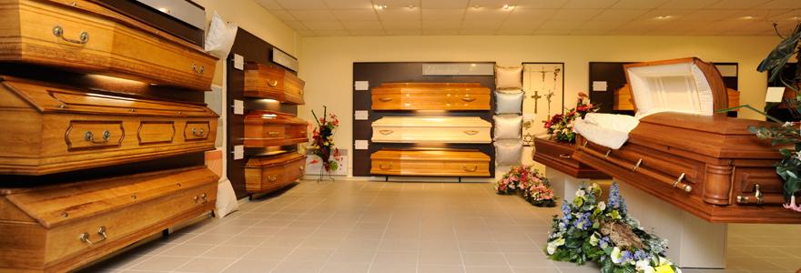 un enterrement